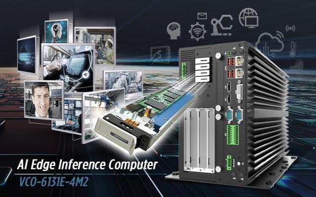 VCO-6131E-4M2 AI Edge Inference Computer