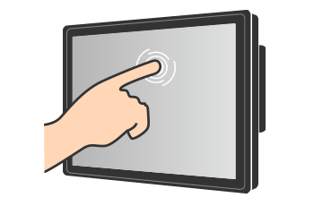 Resistive Touch Monitor