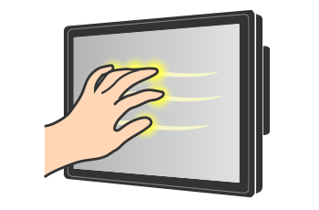 Projective Touch Monitor