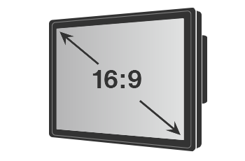 Widescreen Touch Monitor