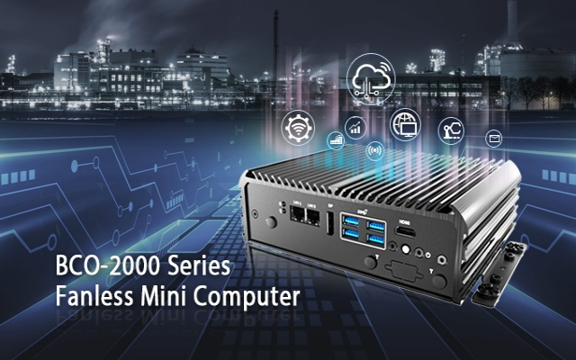 C&T BCO-2000 Series Fanless Mini Computer Offers Unmatched Performance, Scalable I/O, and Powerful Processing In A Palm-Sized Form Factor